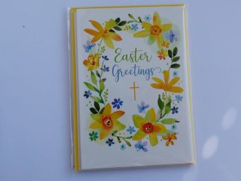 Easter Greetings- Pack of four cards and envelopes