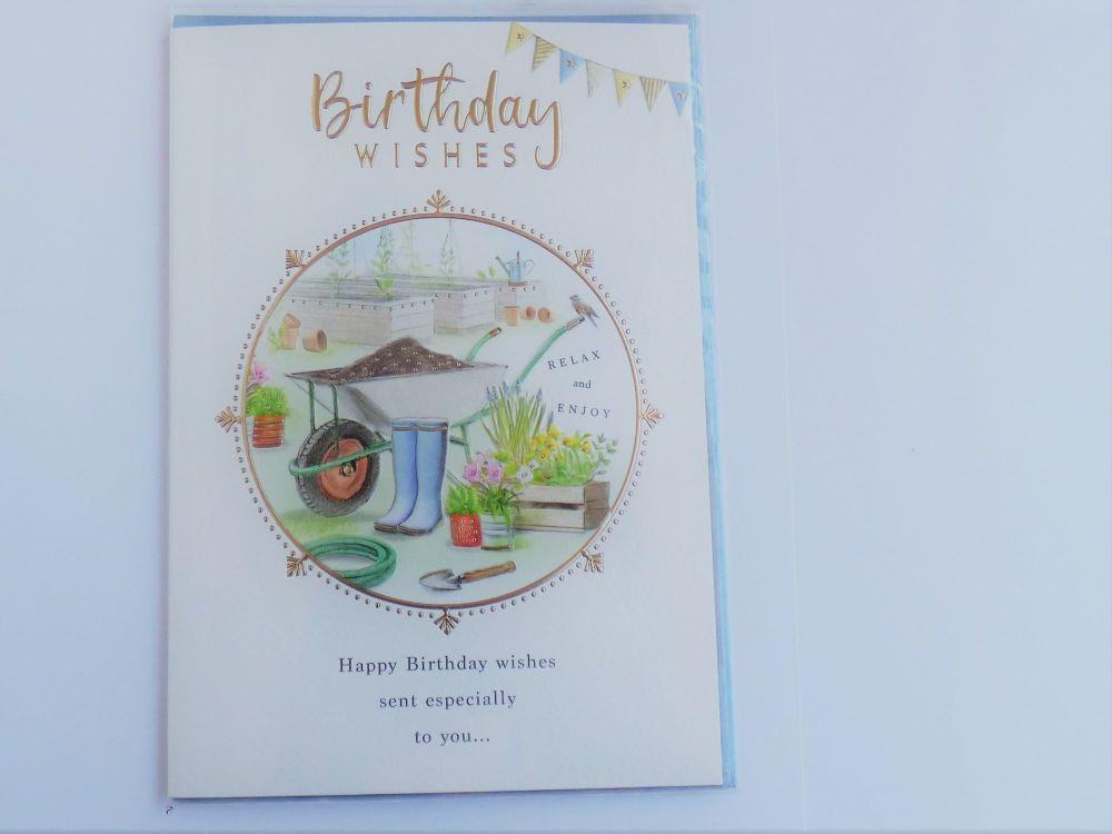 Birthday Wishes (garden)