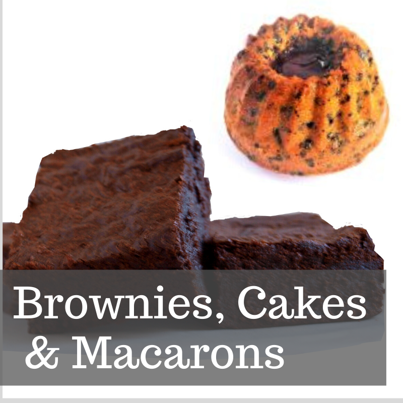 <!--001-->BROWNIES, CAKES &  MACARONS