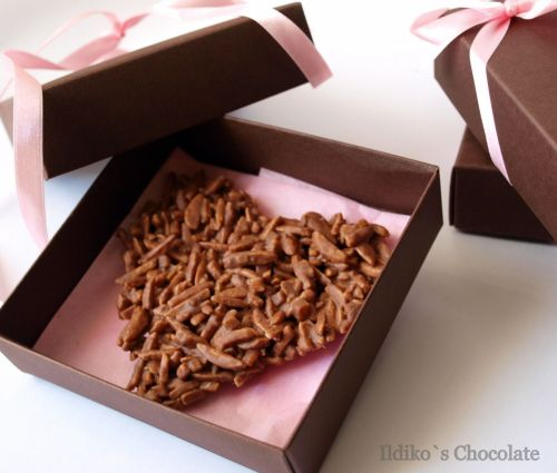 <!--002-->Milk Chocolate Rocher Heart