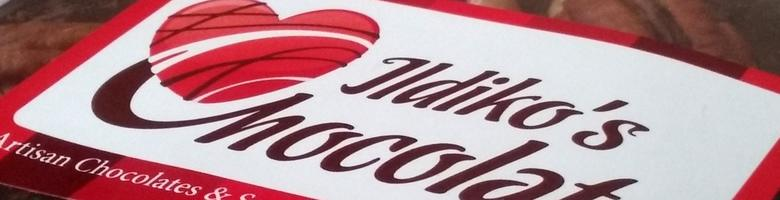 Ildiko`s Chocolate, site logo.