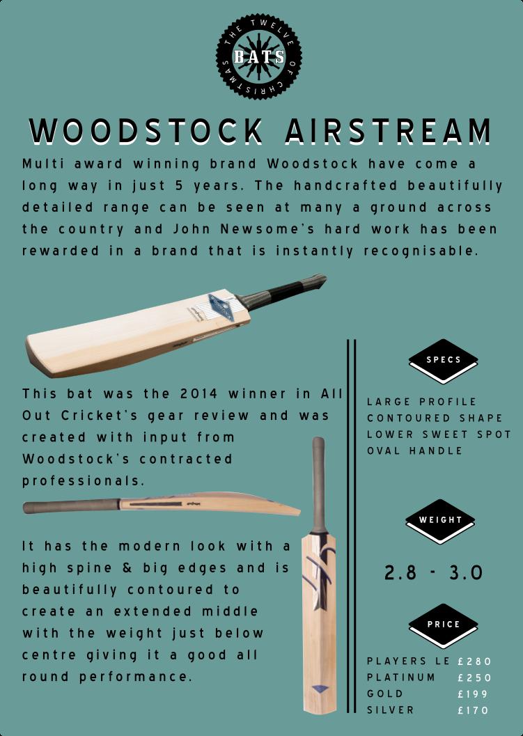 12 bats woodstock