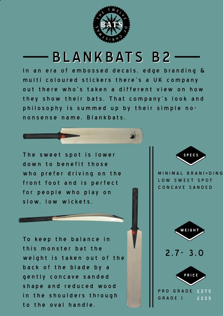 12 bats blankbats