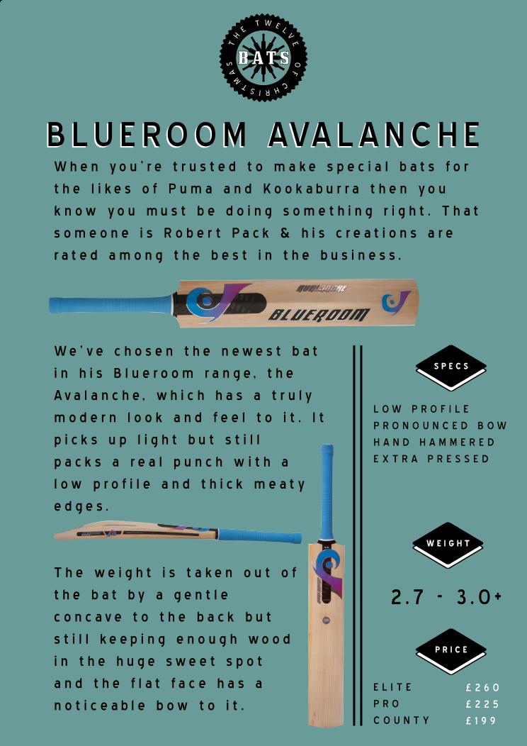 12 bats blueroom