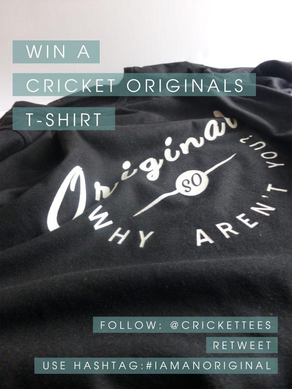 Cricket t-shirt competition twitter