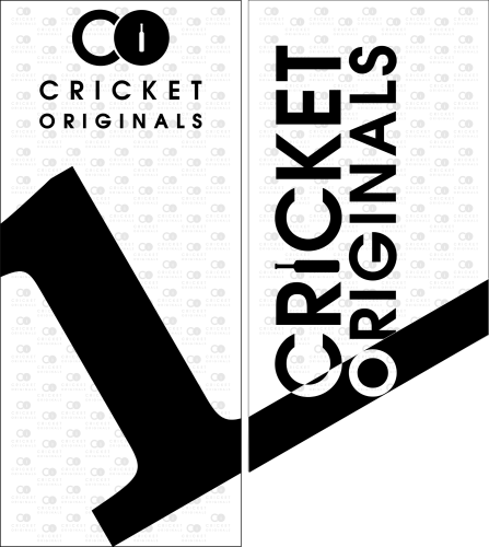 Cricket Originals Bat Sticker 1