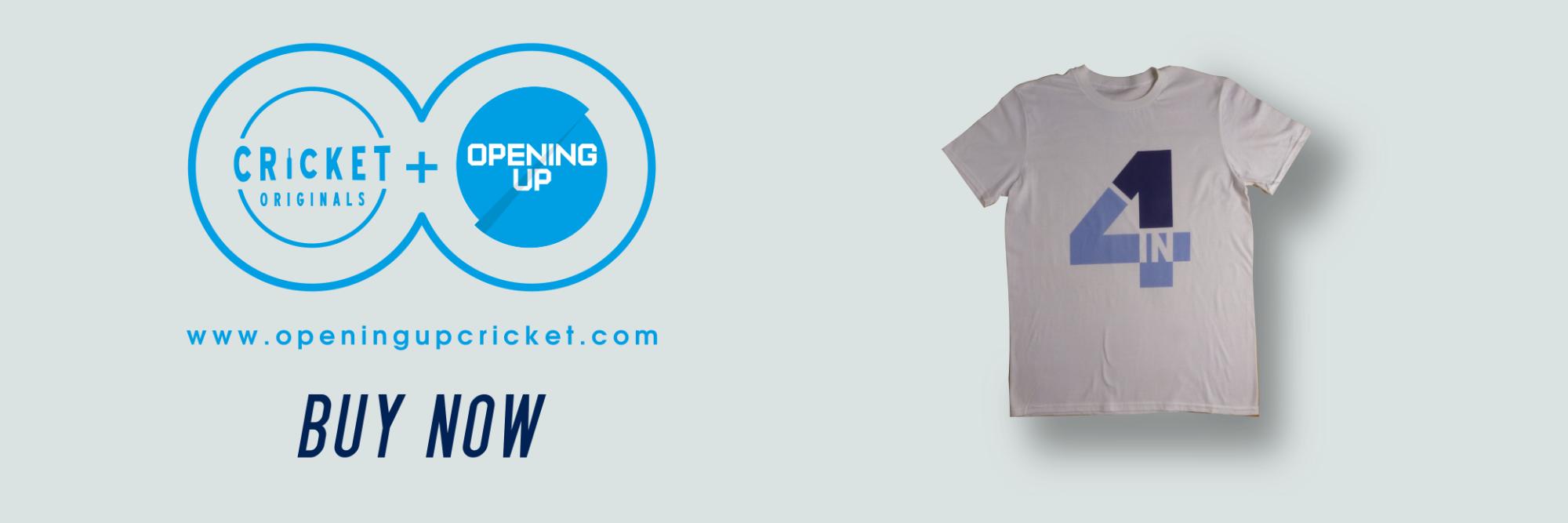 UK cricket t-shirts