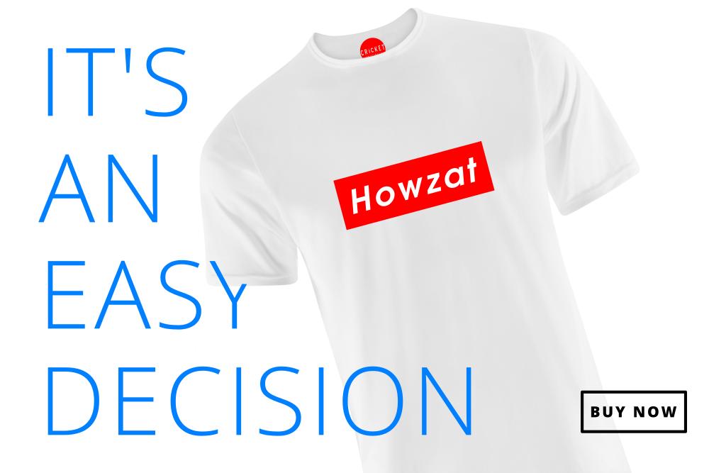 New Howzat cricket T-Shirt