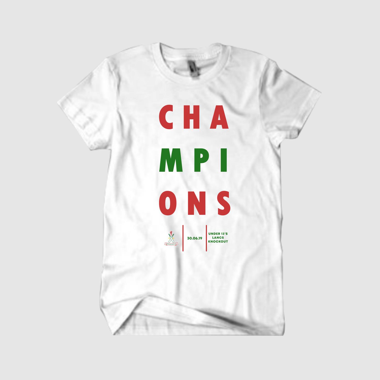 Junior Cricket Tshirt