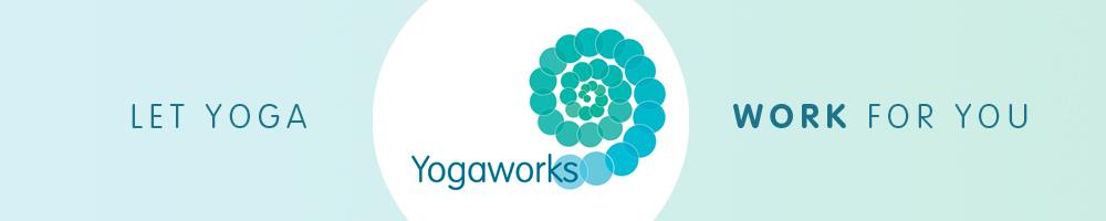 Yogaworks, site logo.