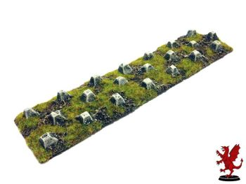 Dragons Teeth Tank Traps 15mm