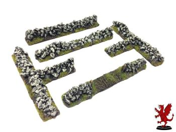 Stone Wall Field Set 28mm Expansion