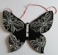 Just because butterfly MDF wall hanging