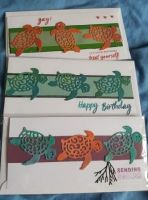 Laughing Dolphin trio of DL cards with envelopes