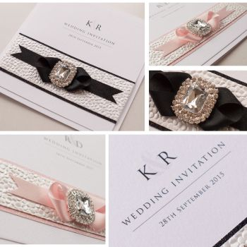 Chic Sample Wedding Invitation