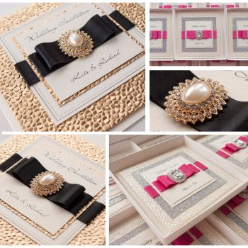 Cleopatra Sample Wedding Invitation