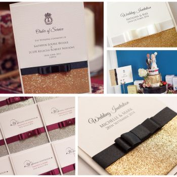 Glamour Sample Wedding Invitation