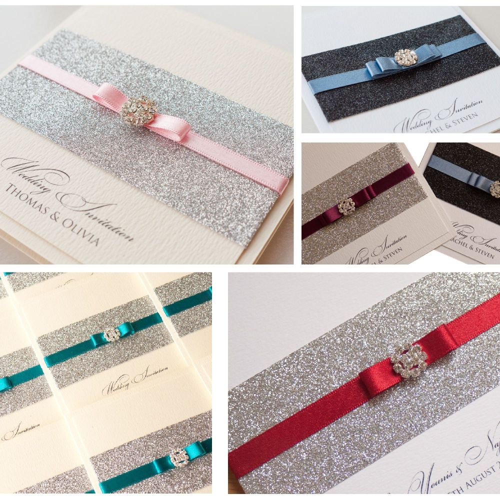 Glitzy Sample Invitation