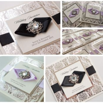 Kensington Sample Wedding Invitation