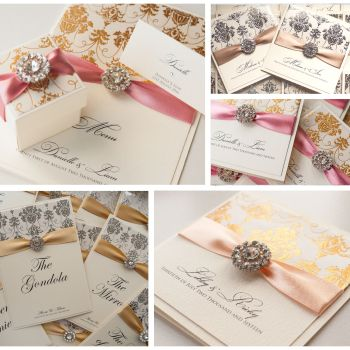 Regency Sample Wedding Invitation