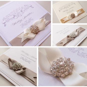 Royale Sample Wedding Invitation