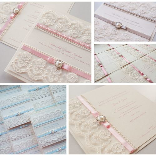 Balmoral Sample Wedding Invitation