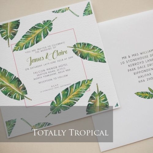 Totally Tropical Invitation Pack