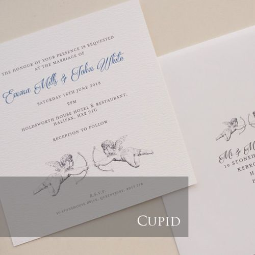 Cupid Invitation Pack (£1.75 per Invitation)