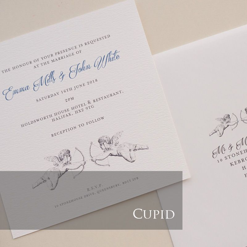 Cupid Invitation Pack (£1.75 per Invitation)