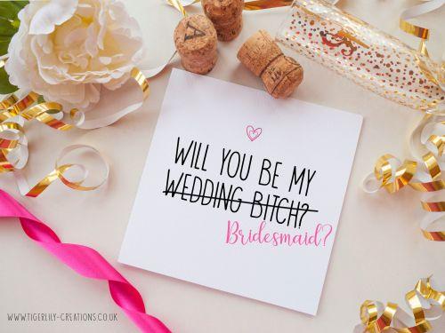 Bridesmaid - Wedding Bitch