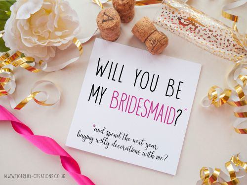 Bridesmaid - Willy Decs