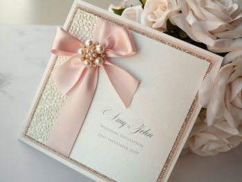 Decadance Sample Wedding Invitation