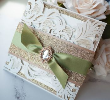 Ballroom Sample Wedding Invitation