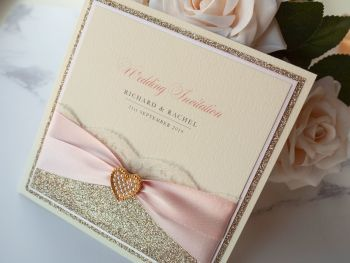 Baroness Sample Wedding Invitation