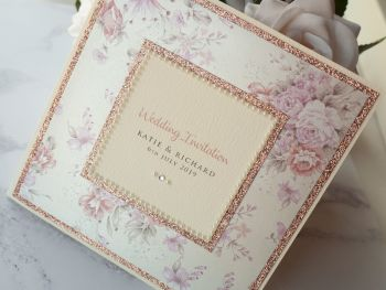 Chelsea Sample Wedding Invitation