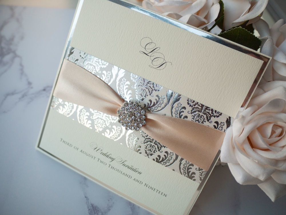 Daydream Sample Wedding Invitation