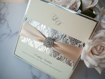 Daydream Sample Wedding Invitation