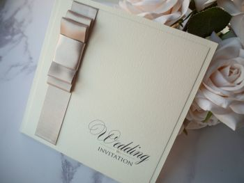 Elegance Sample Wedding Invitation
