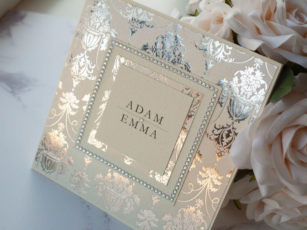 Duchess Sample Wedding Invitation