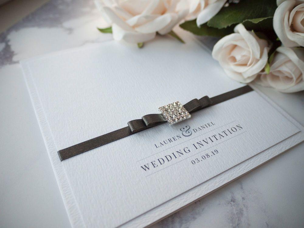 Venice Sample Wedding Invitation