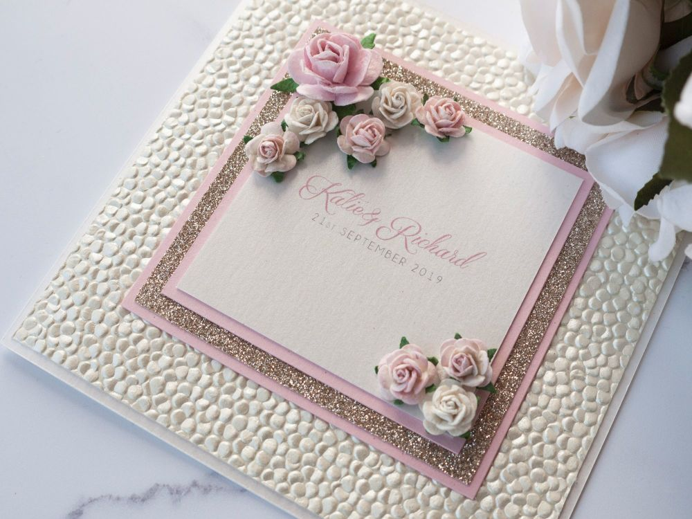 Florence Sample Wedding Invitation