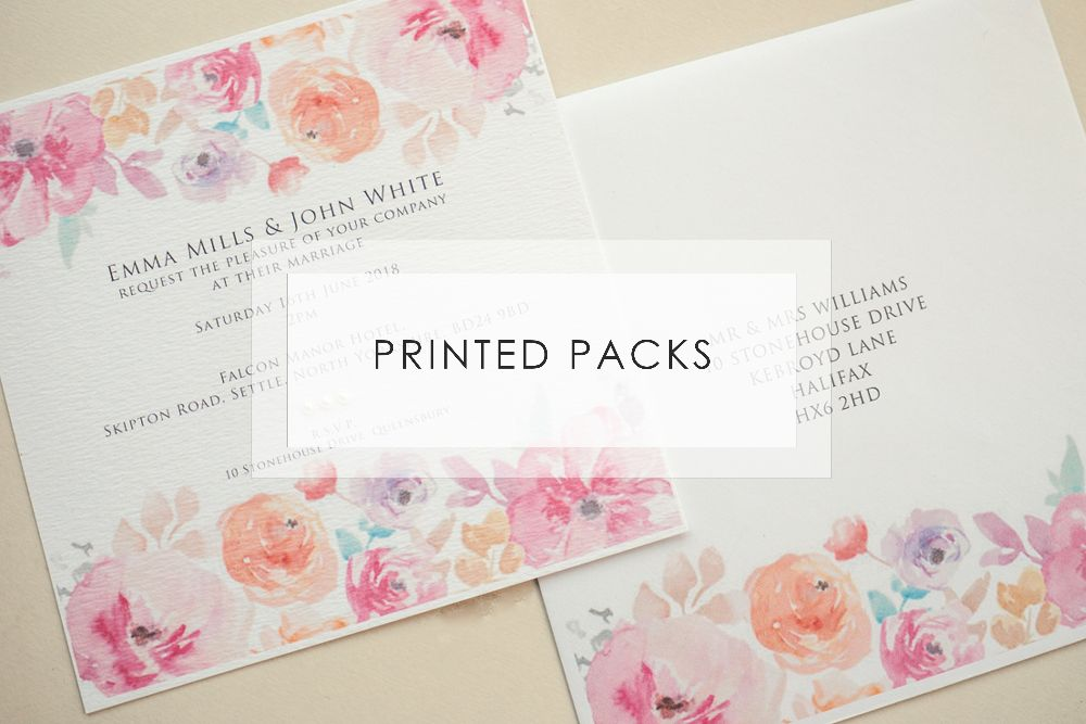 Printed Invitation Collections