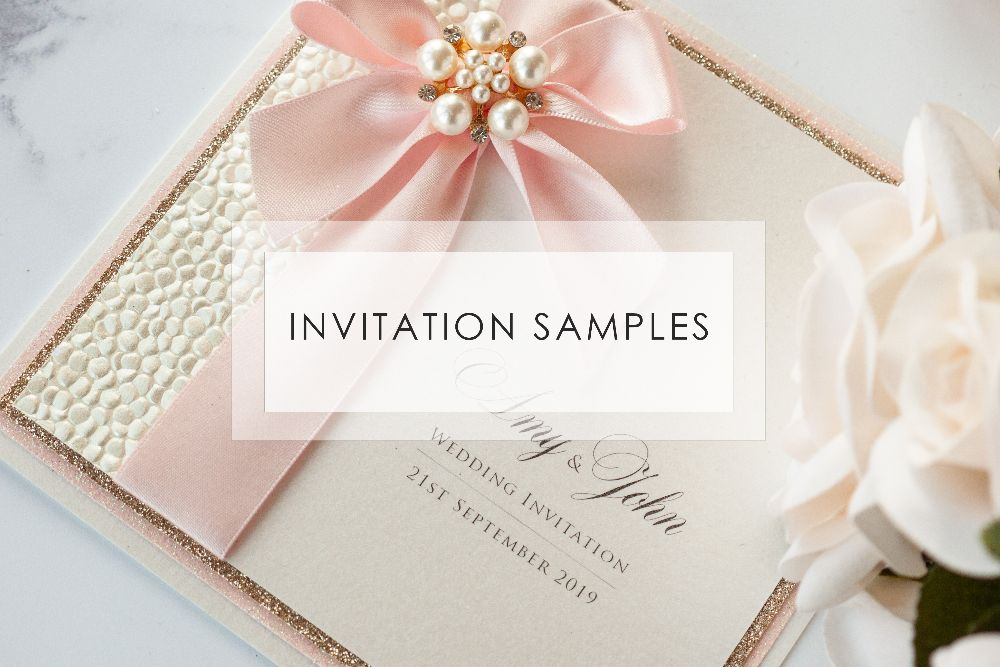 Wedding Invitation Samples