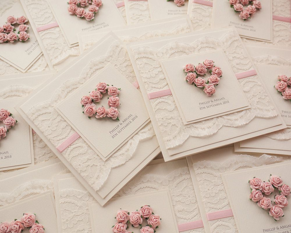 Luxury Handmade Wedding Invitations Uk Tigerlily Creations