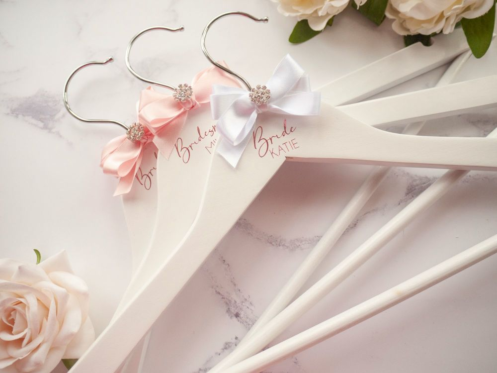Personalised Wedding Hanger