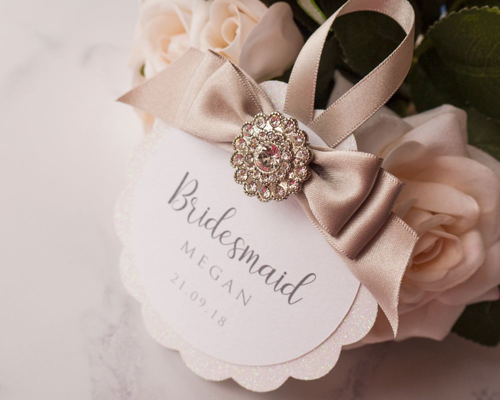Personalised Wedding Hanger Tags