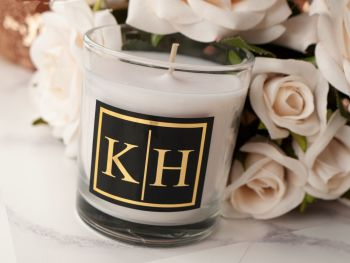 Personalised Monogram Candle