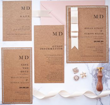 Lumley Sample Wedding Invitation