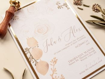 Thonton Sample Wedding Invitation