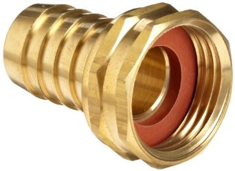 BRF5012 Brass Threaded to Barbed Straight Water Fitting (1/2